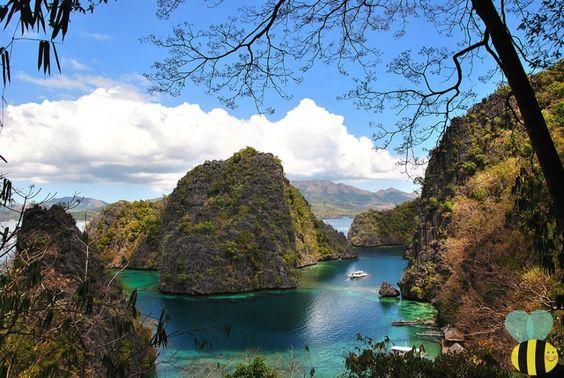 Kayangan Lake Coron Palawan  http://albeeholic.com/travel/luzon/diy-coron-palawan-trip/