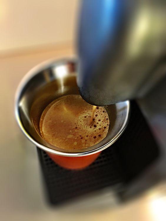 Guten Morgen…einen schönen Sonntag wünsche ich mit einem #Arpeggio #Kaffe von @Nespresso
