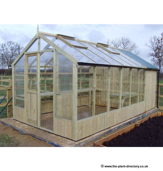 Greenhouse Shed Combination 25 X 8 With 4 39 Shed Section