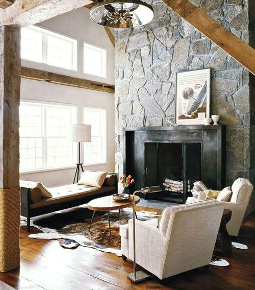 .: Fire Place, Livingroom, Modern Cabin, Living Room, Family Room