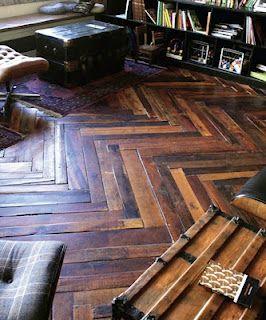 absolutely beautiful (the wooden floor) via anna gillar blog