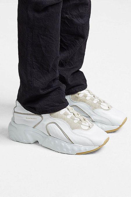 Rockaway Leather Sneakers #acnestudios