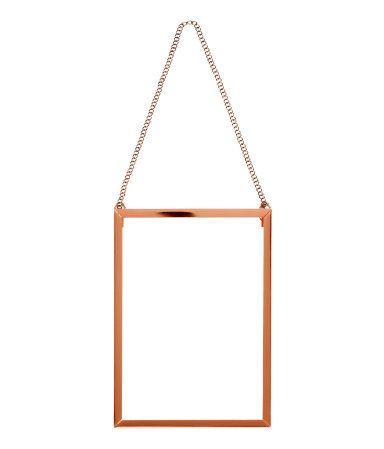 H&M Metal photo frame £7.99