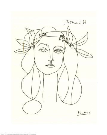 I love her! Been longing for this Picasso print for a long time now...: