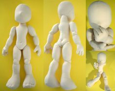 Nichi Mini Boy by ~plushabilities on deviantART...stand at 16 inches when finished. They are very, very poseable and can be coaxed to stand unsupported.   PATTERN AND TUTORIAL ARE NOW UP FOR SALE. US$10 will get you a digital copy