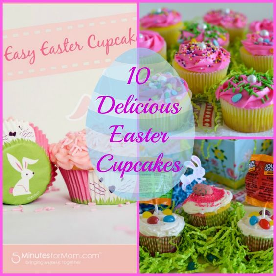 10 Delicious Easter Cupcakes