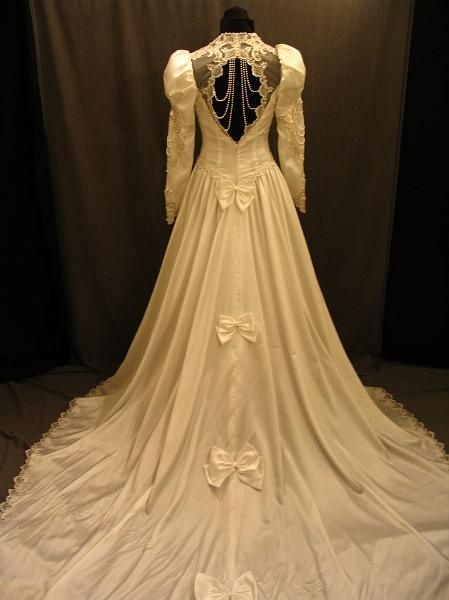 1980's... love it! Sadly, my wedding dress looks a lot like this: