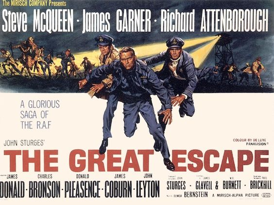 The Great Escape - amazing cast and one of the best war movies ever