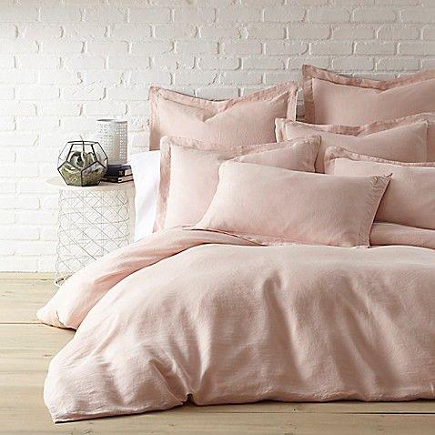 Levtex Home Washed Linen Duvet Cover In Coal Bed Bath Beyond Washed Linen Duvet Cover Bed Linens Luxury Linen Duvet Covers