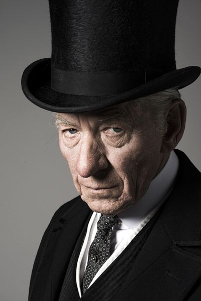 Ian McKellen as Mr.Holmes