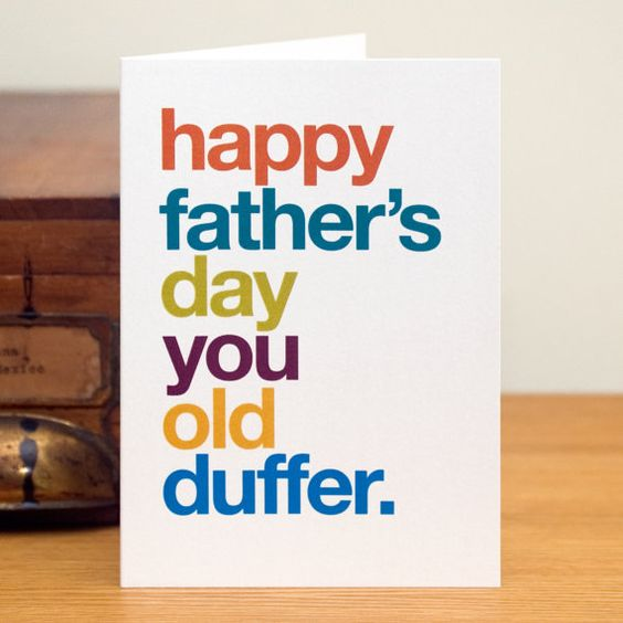 Funny Father's Day Card Cheeky Father's Day by WordplayDesignUk