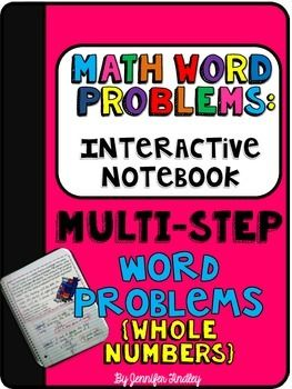 FREE Interactive Math Problems: Multi-Step Word Problems with ...