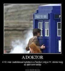 """Képtalálat a következőre: """"A Doktor és a TARDIS"""""""