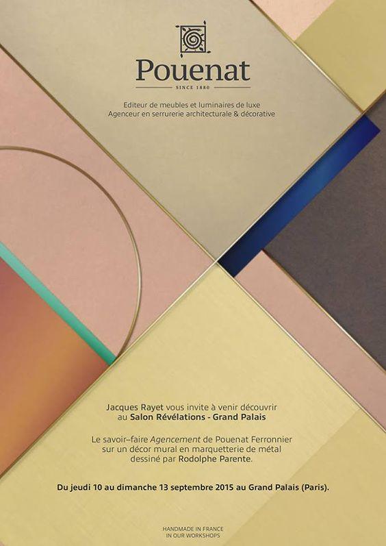Révélations, le salon des métiers d'art et de la création. Septembre 2015 www.rodolpheparente.com www.pouenat.fr