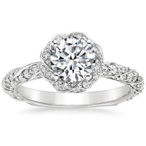 18K White Gold Cordoba Diamond Ring