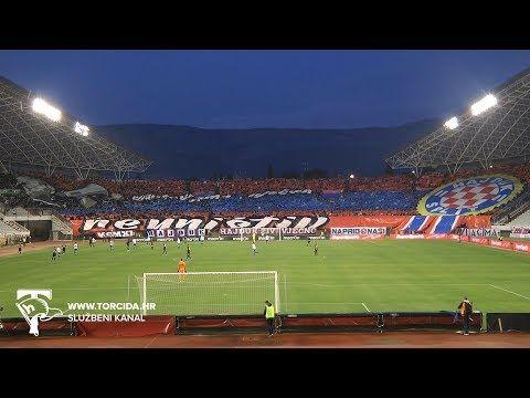 Torcida Split Hnk Hajduk Split Nk Lokomotiva Zagreb 2 1 20 Kolo Ht Prva Liga Youtube Hnk Hajduk Split Merna Soccer Field