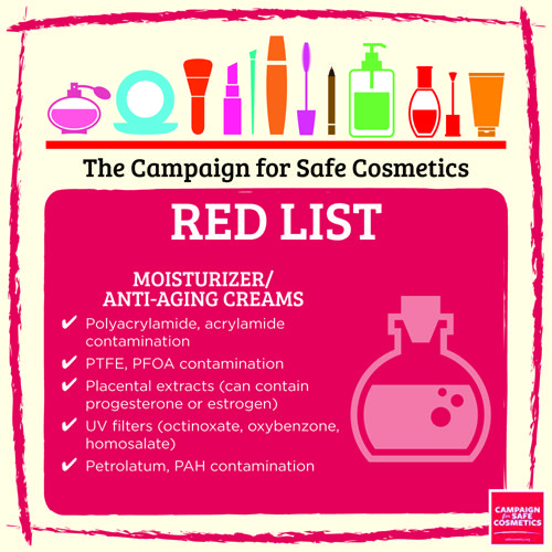 You shouldn't need a PhD in chemistry to choose safe cosmetics and personal care products. That's why we enlisted the Campaign for Safe Cosmetics scientists to make shopping for safe products easier for you. - See more at: http://sc-dev.rootid.in/chemical/red-list/#sthash.j98JhJiJ.dpuf: