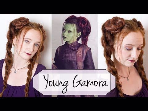 Hair Tutorial For Young Gamora In Marvel S Avengers Infinity War