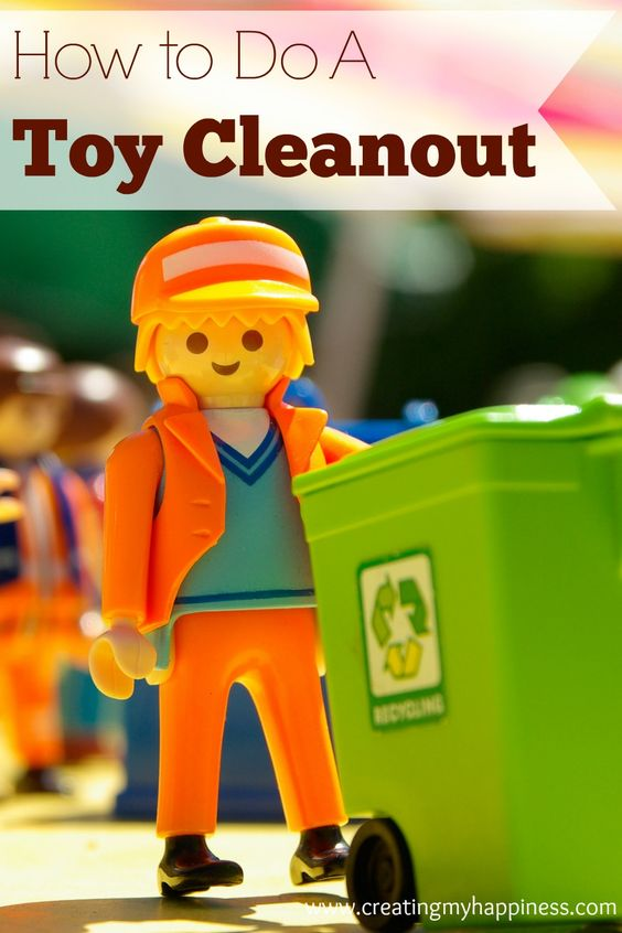 If toys are taking over your house, follow these simple tips to managing a toy cleanout.