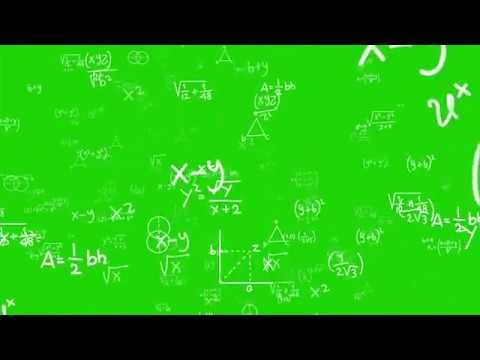 4k Math Equations Greenscreen Chromakey Green Screen Video Backgrounds Greenscreen Green Background Video