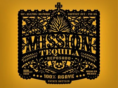 Tequila Label by Jose Canales