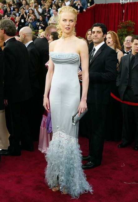 Image result for Nicole Kidman in Chanel Couture - Academy Awards 2004