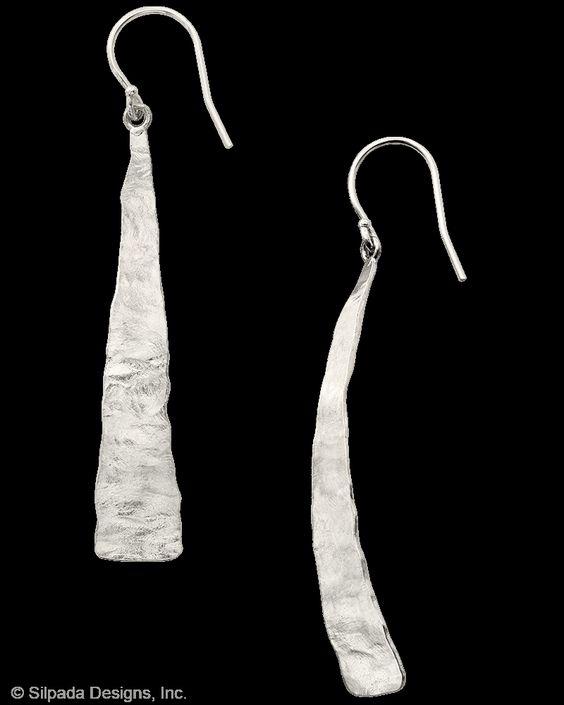 Winding River Earrings | Jewelry by Silpada Designs
