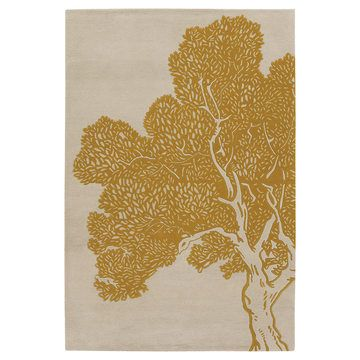 Tree 7'9x10'6 Yellow Rug