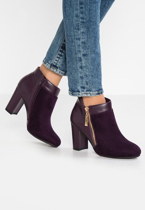 best shoes presenting best cheap ANNALISA - Ankle boots - berry @ Zalando.co.uk 🛒 in 2019 ...