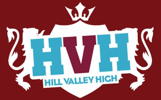 Hill Valley High branding by Big Eye Deers #soundcloud