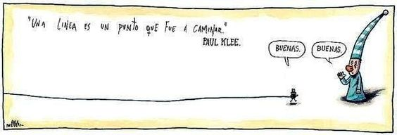 Liniers, Macanudo (about Paul Klee)