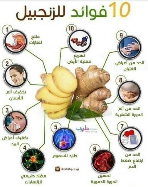 معلومة صحة وتغذية صحة وجمال الصحة والغذاء Health Benefits Of Ginger Health Boost Foods