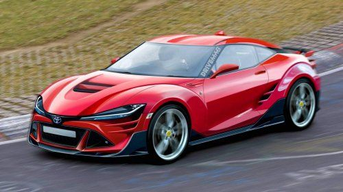 Next Generation Toyota Gt86 Imagined With Supra Inspired Looks Toyota Gt86 Concept Cars Toyota 86