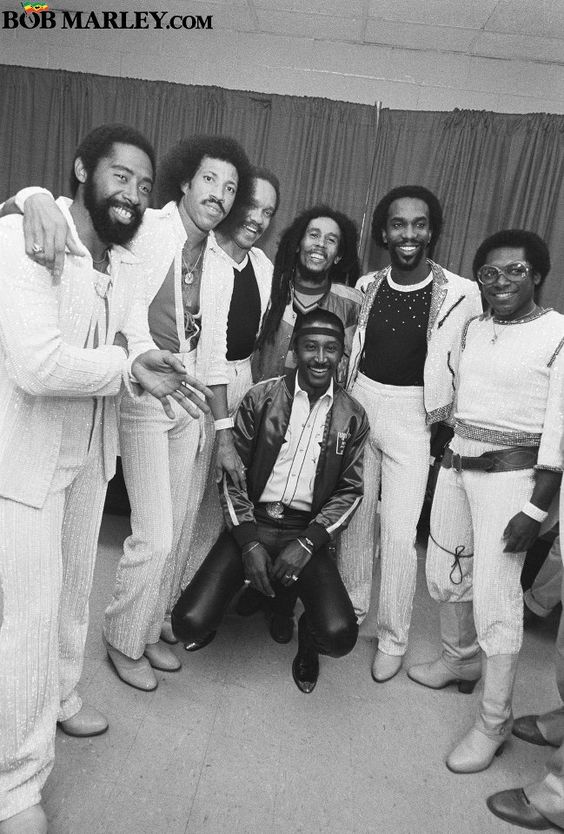 Bob with The Commodores