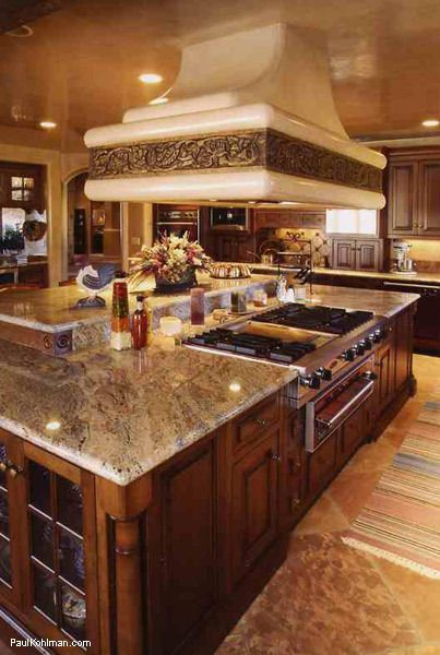 Kitchens Islands And Hoods On Pinterest