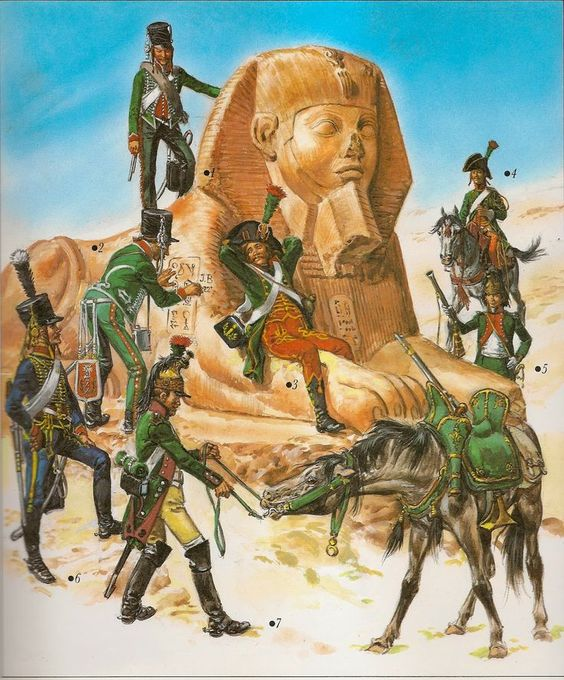 Image result for napoleon egypt army: