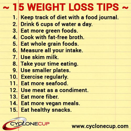 auriscope tips to lose weight
