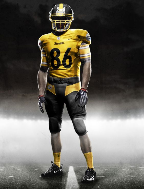 new nike steelers uniforms! Too bad 86 won't be around to wear it! (I miss Hines sooo much!)