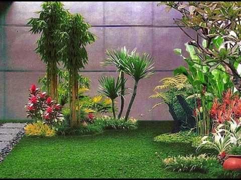 Taman Bunga Di Belakang Rumah