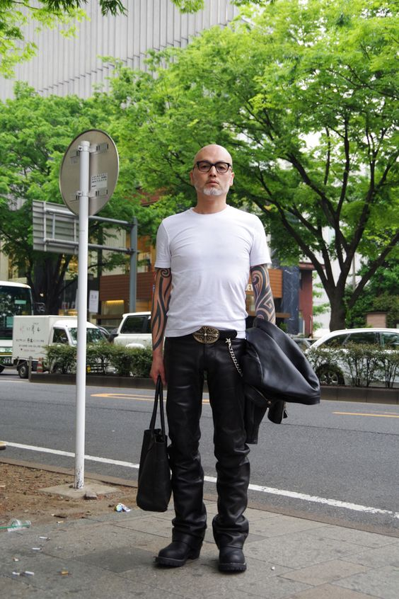 ストリートスナップ青山 - 保科武文さん | Fashionsnap.com
