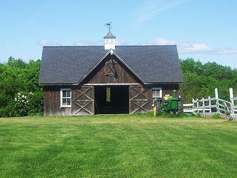 Barns Small Barns And Barn Plans On Pinterest