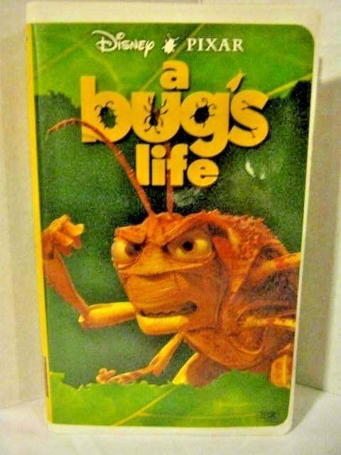 Disney Pixar A Bugs Life Vhs Disney Pixar A Bug S Life Pixar
