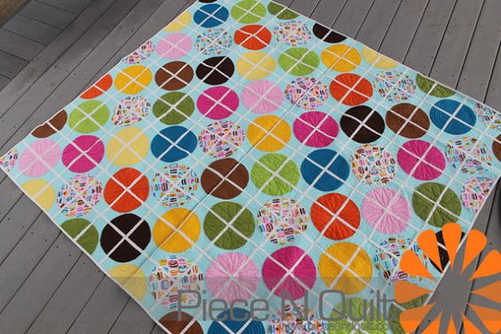"""Piece N Quilt: """"Round and Round"""" Beginner's Guide to Free-Motion Quilting"""
