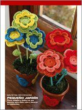 Crochet Flores Nº 01 - 2012 - EviaEdiciones.com