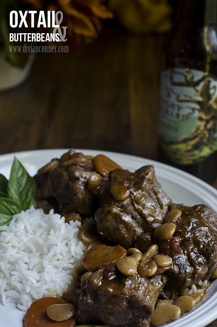Oxtails And Butter Beans
