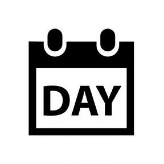 Day calendar | Vector Icons | Pinterest | Free icon, Calendar and ...