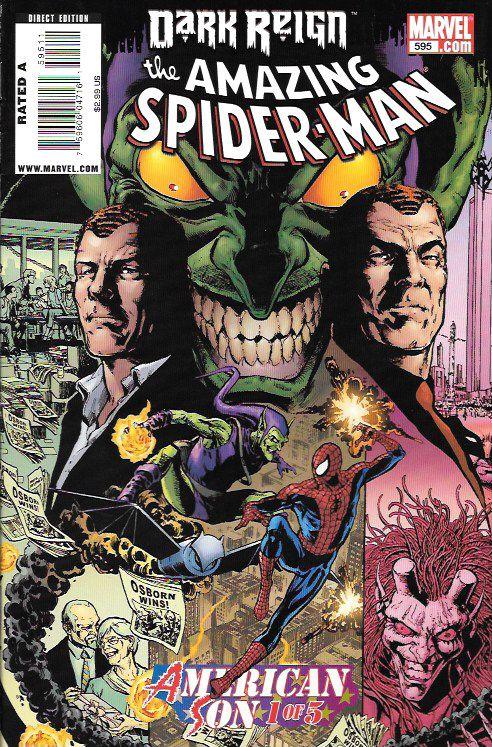 The Amazing Spider-Man # 595 Marvel Comics Vol 1