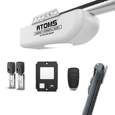 Skylink Atoms 1 2hp Chain Drive Garage Door Opener Garage Door Opener Chain Drive Garage Doors