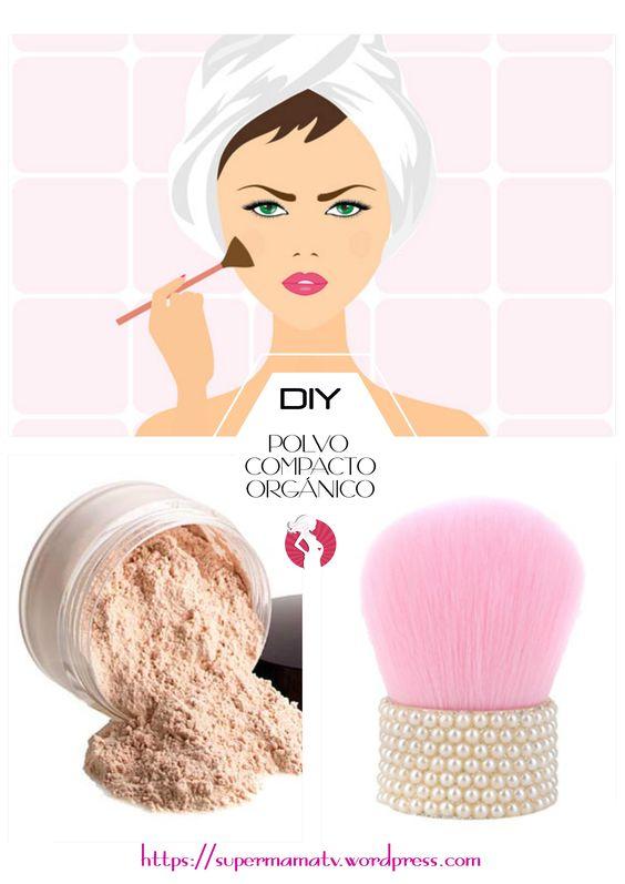 Es maravilloso usar productos orgánicos, sobretodo poder hacer tu propio polvo compacto en casa. Es muy saludable para la piel ya que no tiene toxinas de los productos químicos que contienen los qu...