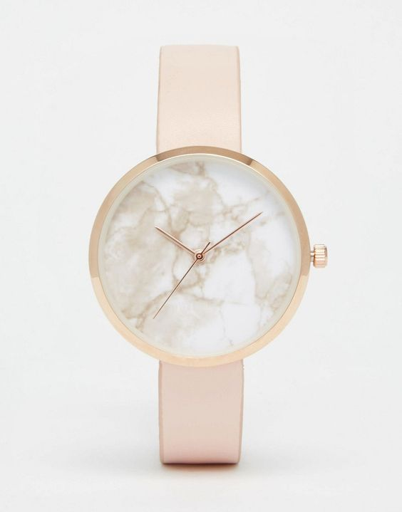 Image 1 of ASOS Marble Face Watch: